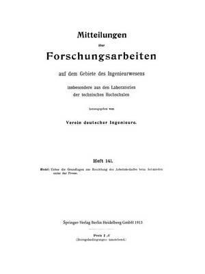 Mitteilungen Über Forschungsarbeiten