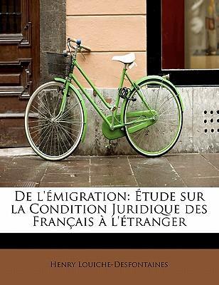 De l'émigration