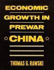Economic Growth in Prewar China
