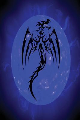 Fantasy Fire Dragon Blue Journal