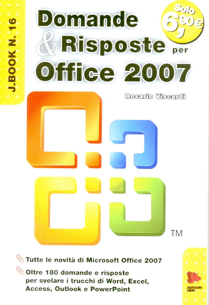 Domande e risposte per Office 2007