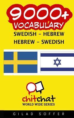 9000+ Swedish Hebrew Hebrew-swedish Vocabulary