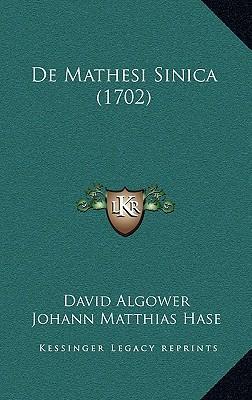 de Mathesi Sinica (1702)