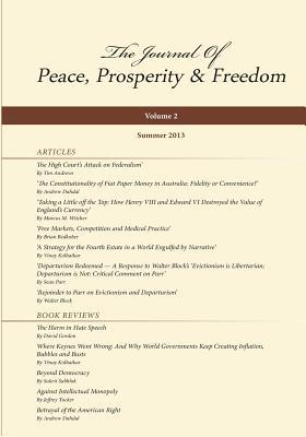 Journal of Peace, Prosperity and Freedom