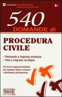 540 domande procedura civile