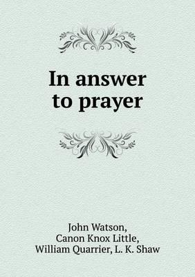 In Answer to Prayer