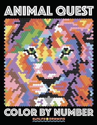 ANIMAL QUEST Color by Number