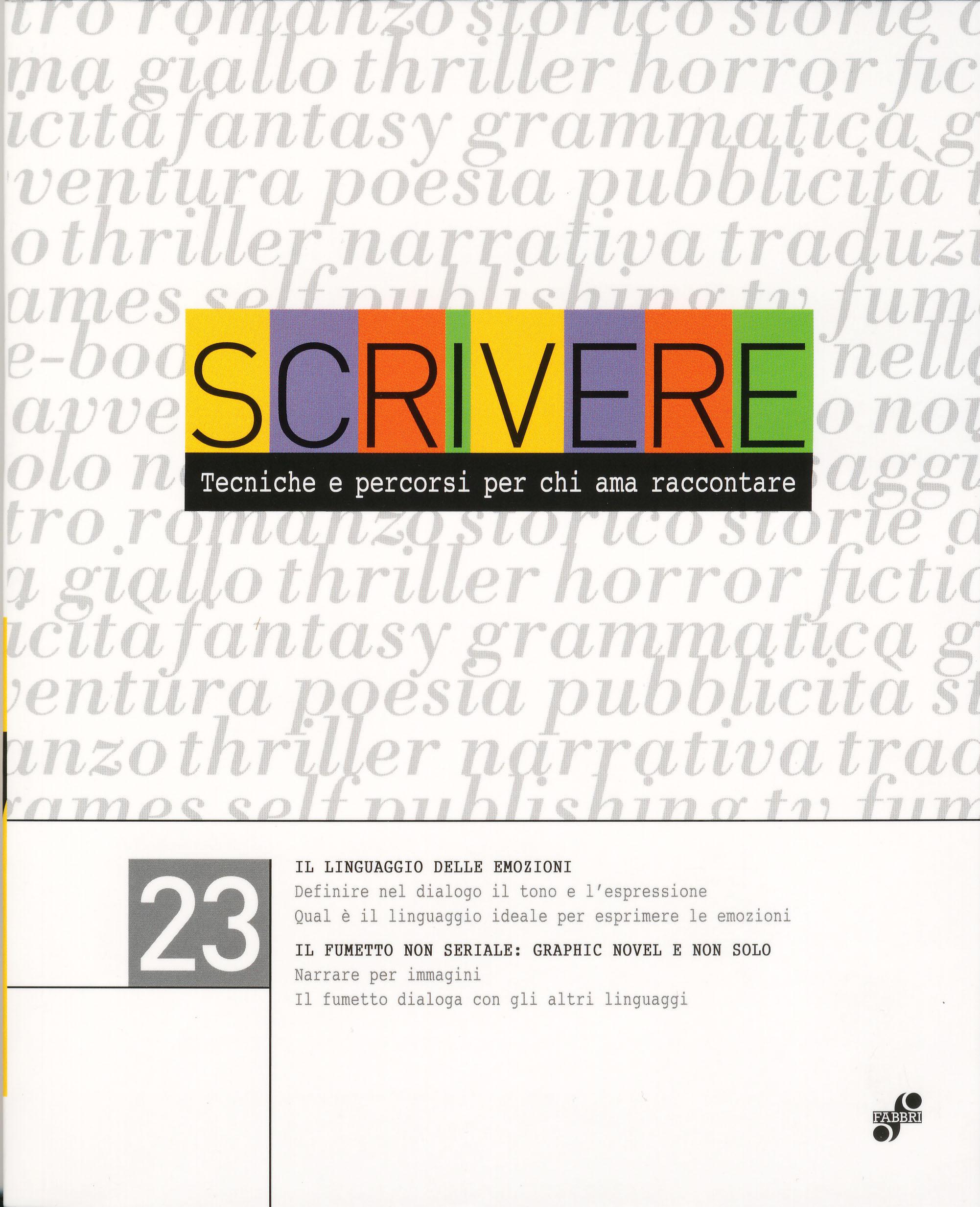 Scrivere - vol. 23