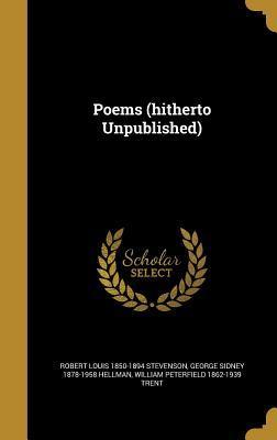 Poems (Hitherto Unpublished)