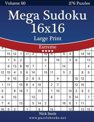 Mega Sudoku 16x16
