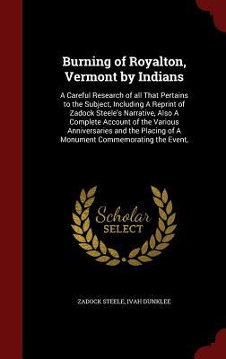 Burning of Royalton, Vermont by Indians