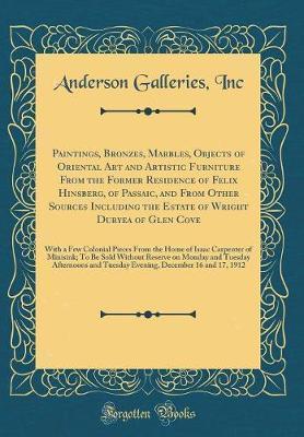 Paintings, Bronzes, ...