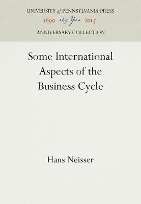 Some International Aspects of the Business Cycle
