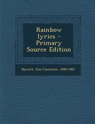 Rainbow Lyrics