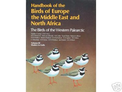 Handbook of the Birds of Europe, the Middle East and North Africa: Waders to Gulls v.3
