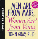 Men are from Mars, Women are from Venus: Boxed Calendar
