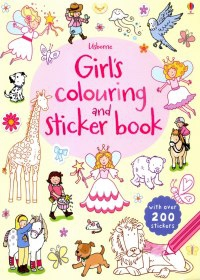 Girls' Colouring and...