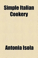 Simple Italian Cookery