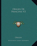 Origen de Principiis