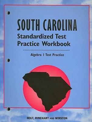 Algebra 1, Grade 9 Standard Test Practice Workbook