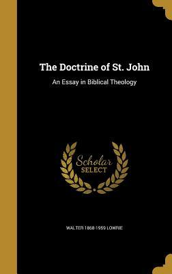 DOCTRINE OF ST JOHN