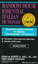 Essential Italian Dictionary