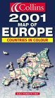 Collins 2001 Map of Europe