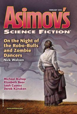Asimov's Science Fiction, February 2015