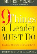 9 Things a Leader Mu...