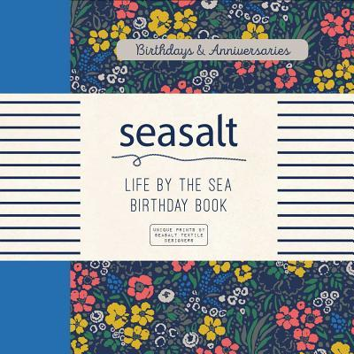 Seasalt Life by the Sea Birthday Book