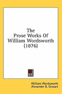 The Prose Works of William Wordsworth (1876)