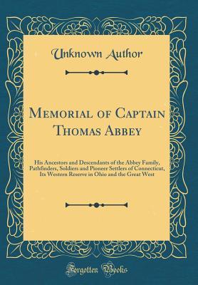 Memorial of Captain Thomas Abbey