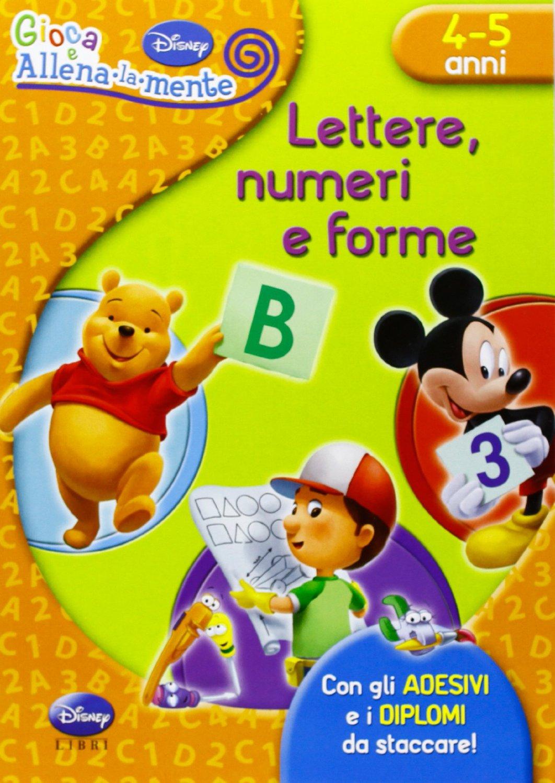 Lettere, numeri e forme