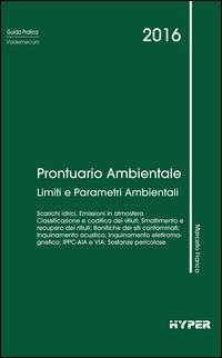 Prontuario ambientale. Limiti e parametri ambientali
