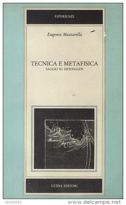 Tecnica e metafisica