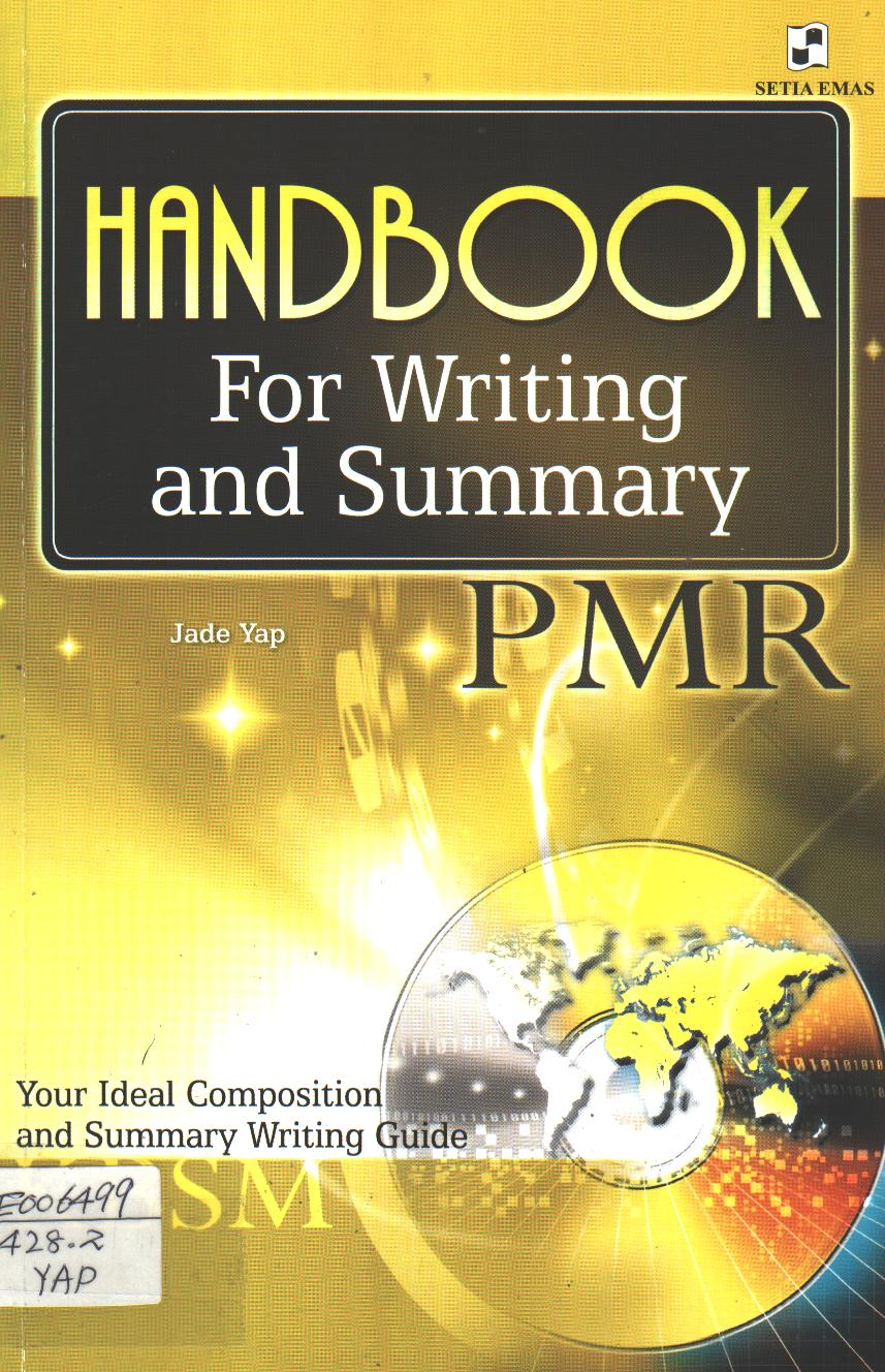 Handbook for Writing and Summary