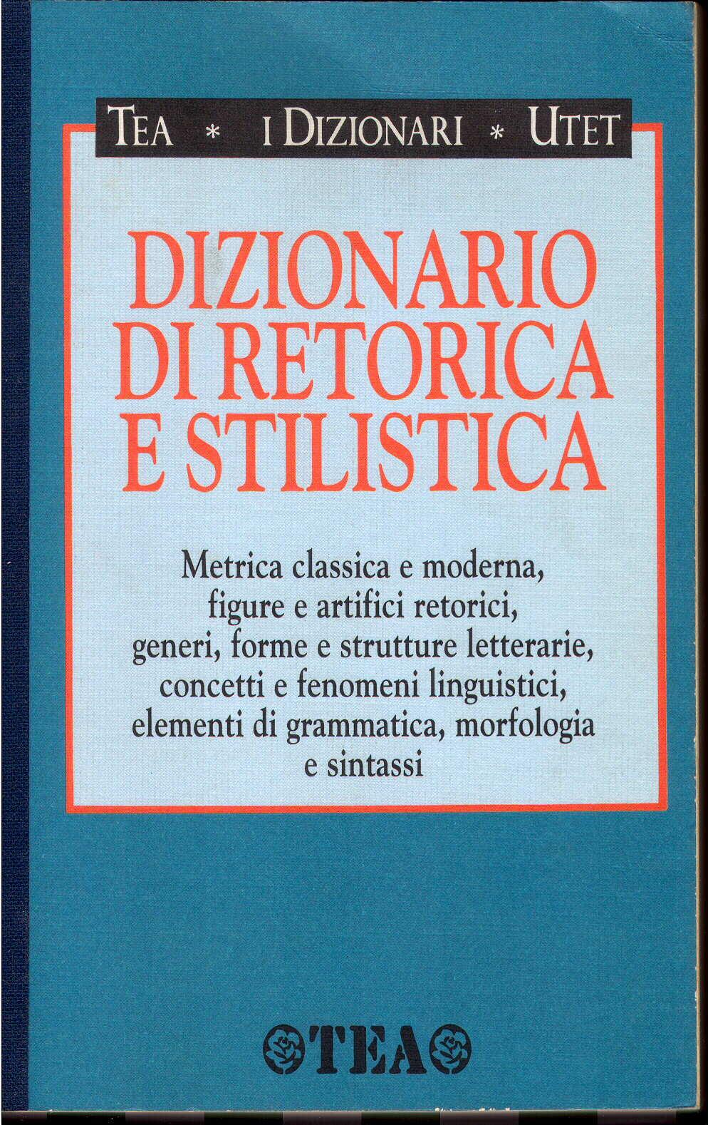 Dizionario di retorica e stilistica