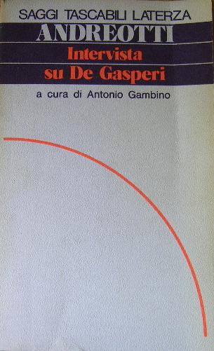 Intervista su De Gasperi