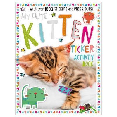 My Cute Kitten Sticker Activity Book