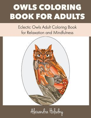 Owls Coloring Book for Adults