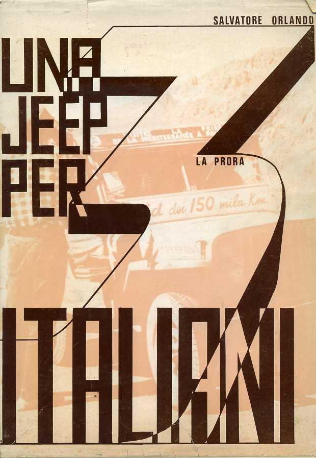 Una Jeep per tre italiani