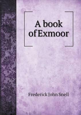 A Book of Exmoor