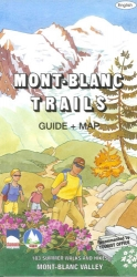 Mont-Blanc Trails: Guide + Map