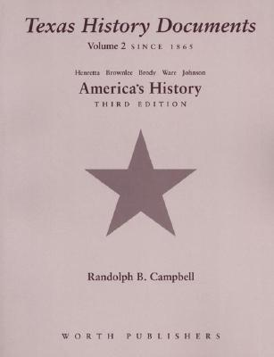 Texas History Documents