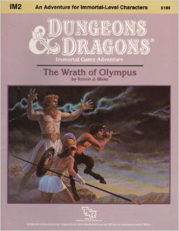 The wrath of Olympus