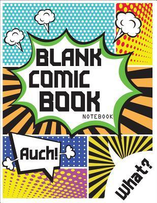 Blank Comic Book Notebook