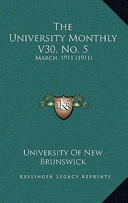 The University Monthly V30, No. 5