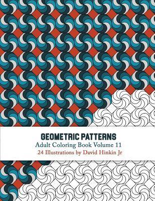Geometric Patterns - Adult Coloring Book Vol. 11