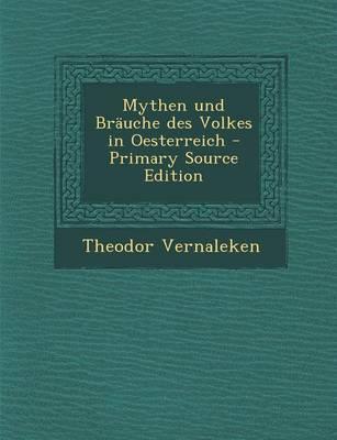 Mythen Und Brauche D...
