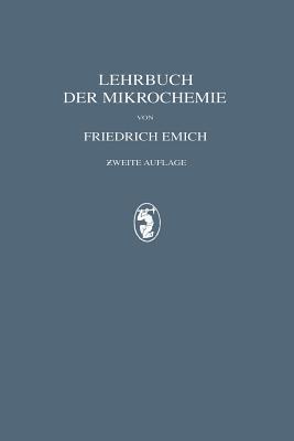 Lehrbuch Der Mikrochemie